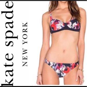 Kate Spade Swimsuit Bikini 2pc Colombe Sz Small